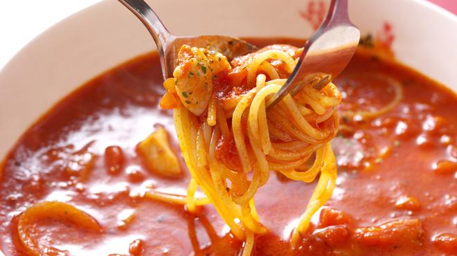 朝でも昼でも夜でも。いつでも真夜中のスパゲッティ♪